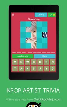 KPOP ARTIST TRIVIA and EARN REAL CASH screenshot 10