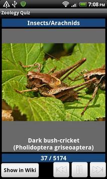 Zoology Quiz скриншот 6