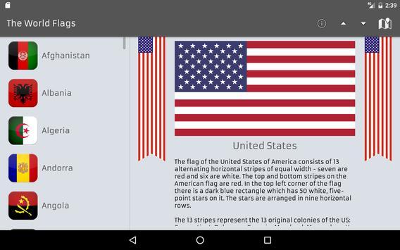 The World Flags screenshot 9