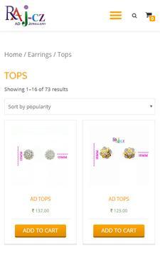 Raj Cz: Artificial AD Jewellery screenshot 1