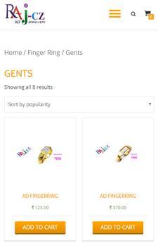 Raj Cz: Artificial AD Jewellery screenshot 2