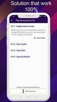 Play-Service Fix 2020 - Update and error solution screenshot 1