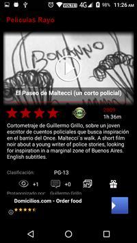 Peliculas Rayo imagem de tela 2
