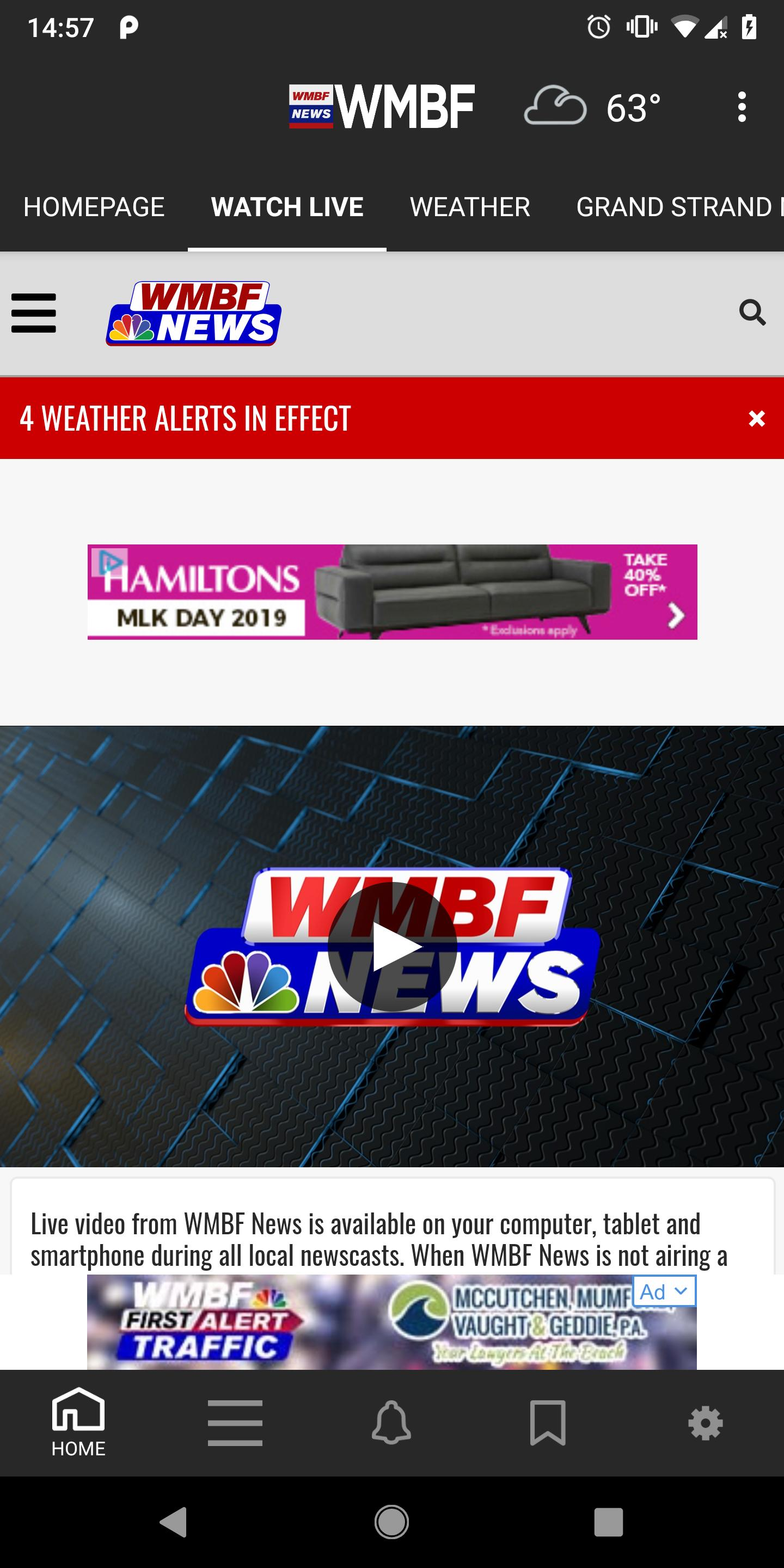 WMBF Breaking News & Weather for Android - APK Download