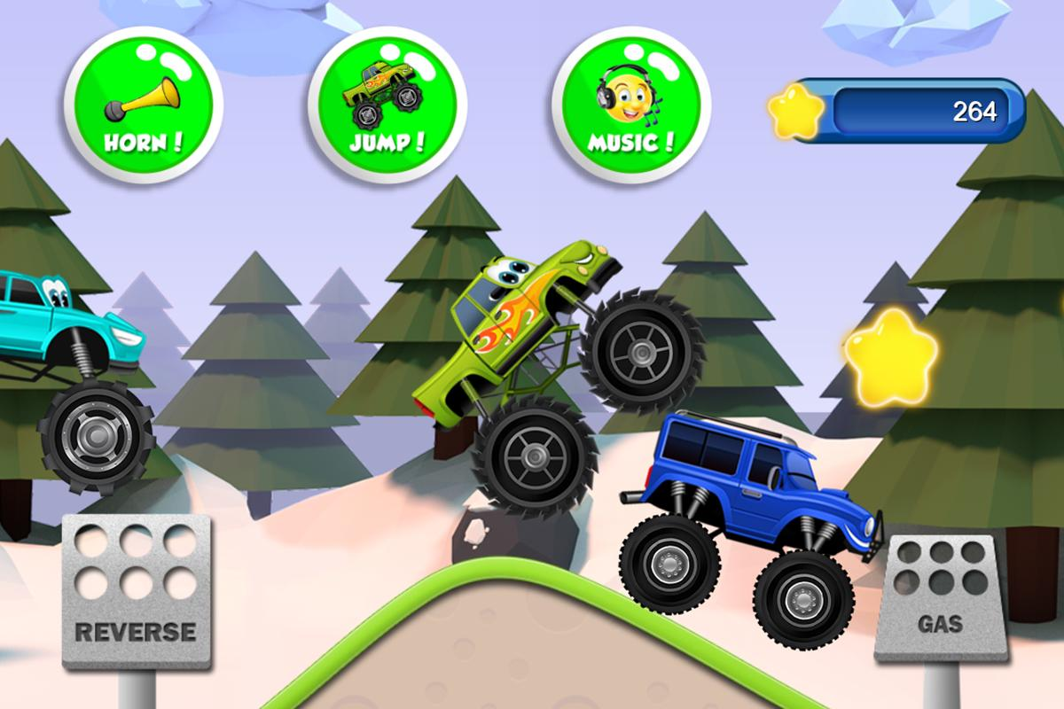 Monster Trucks Game For Kids For Android Apk Download