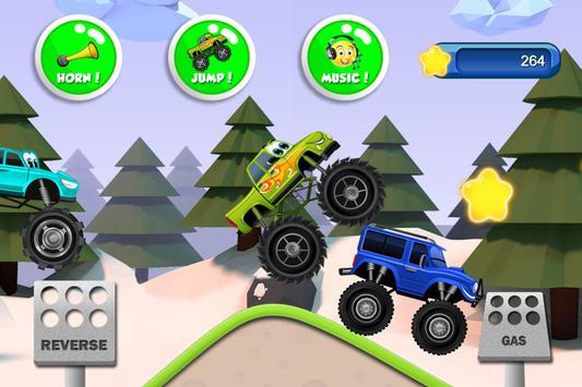 Monster Trucks Game for Kids स्क्रीनशॉट 5