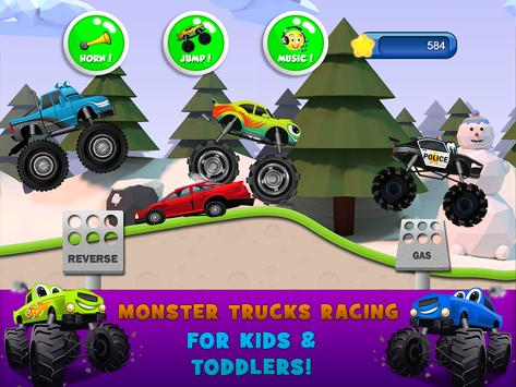 Monster Trucks Game for Kids 2 screenshot 6