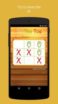 TicTacToe 2 - Material Taste screenshot 1