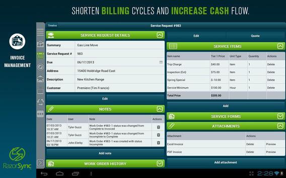 RazorSync screenshot 14