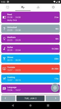 Simple Time Tracker capture d'écran 1