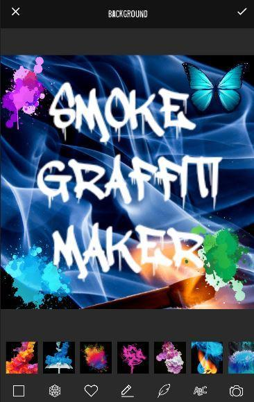 Smoke Graffiti Name Maker for Android - APK Download