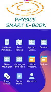 Smart E-book Physics poster