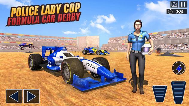 Police Demolition Derby: Formula Car Destruction screenshot 8