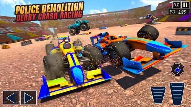 Police Demolition Derby: Formula Car Destruction screenshot 19