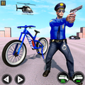 Police BMX Bicycle Street Gangster Shooting Game