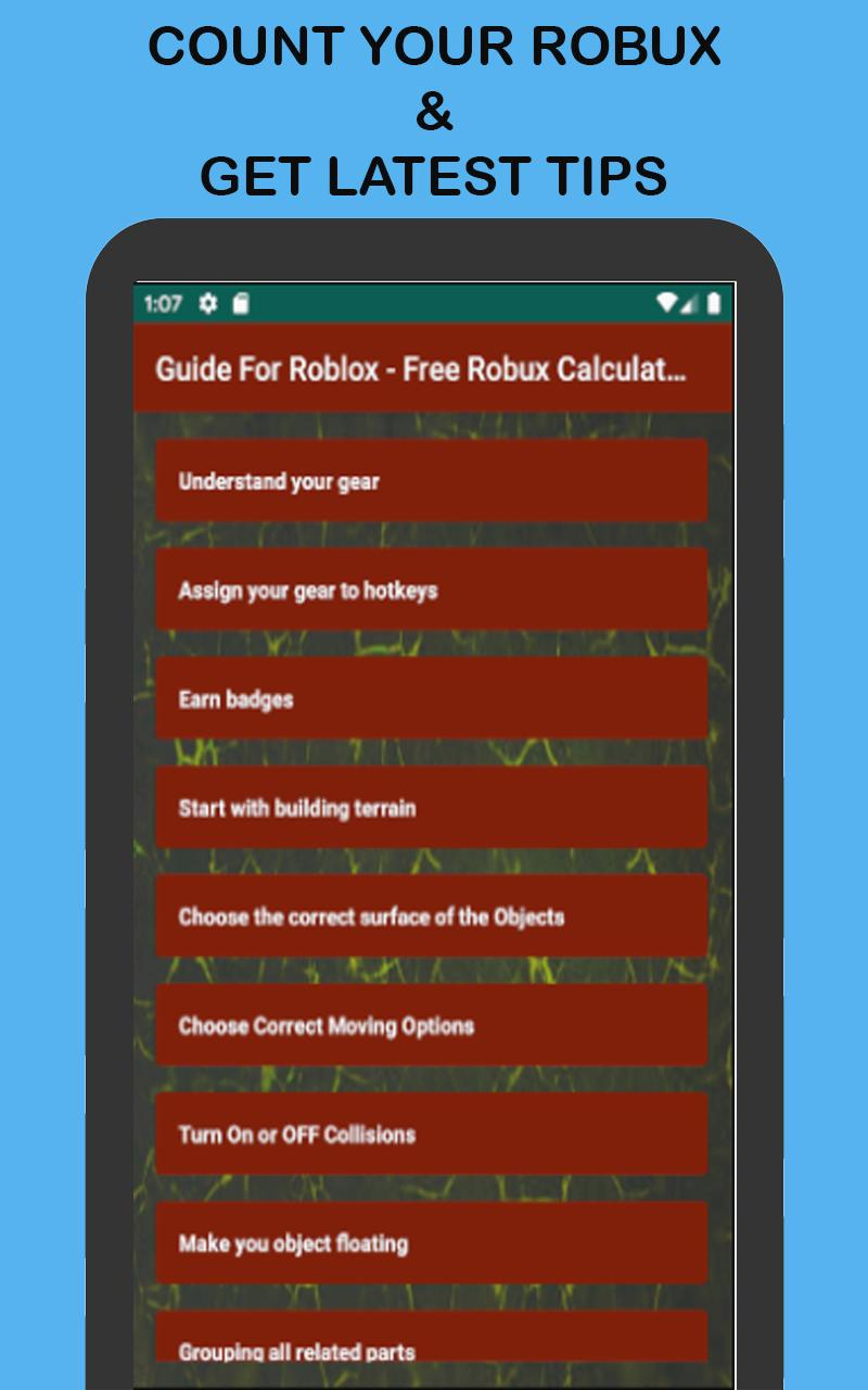 Roblox How To Get Badges For Free Guide For Roblox Free Robux Counter 2020 For Android Apk Download