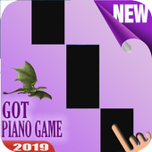 Old Town Road Piano Tiles icon