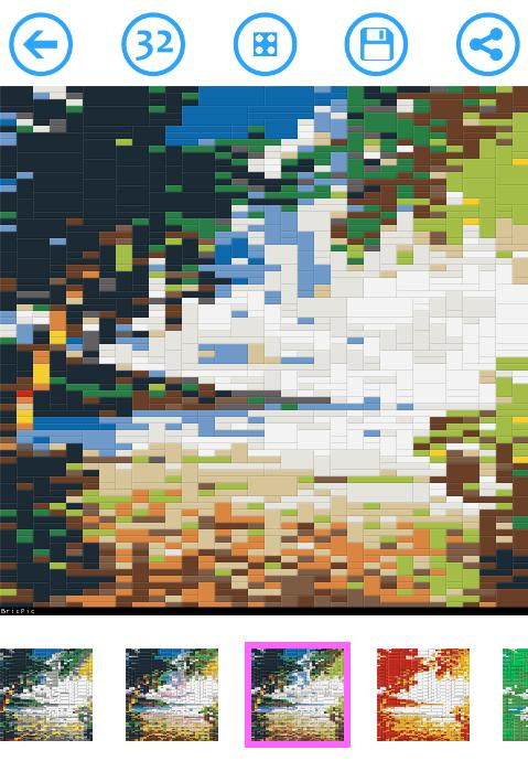 BricPic 🎨 Free block mosaic creator for Android - APK Download