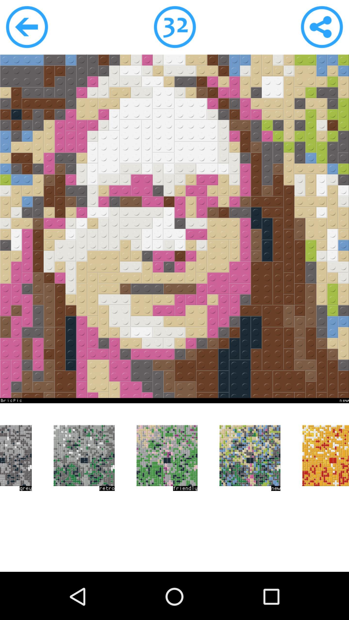 BricPic 🎨 Free block mosaic creator for Android - APK Download