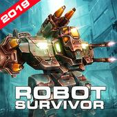 Survival Robot War - Offline shooting game 2020 icon