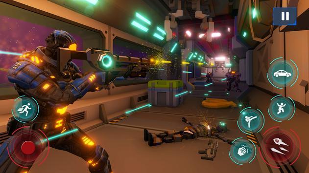 Survival Robot War - Offline shooting game 2020 screenshot 13