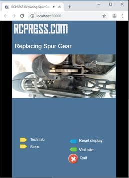 RCPRESS Replacing RC Car Spur Gear poster