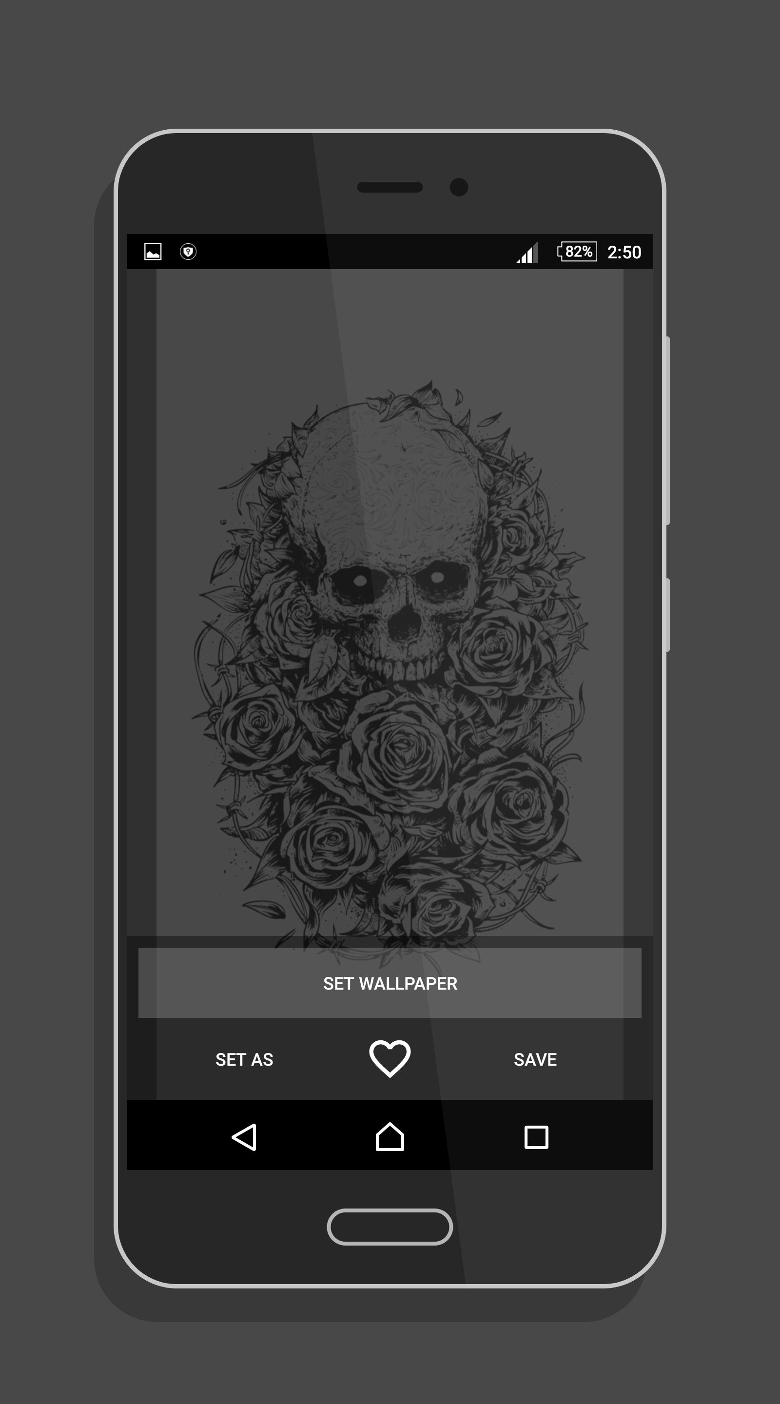 Skull Rose Wallpaper For Android Apk Download
