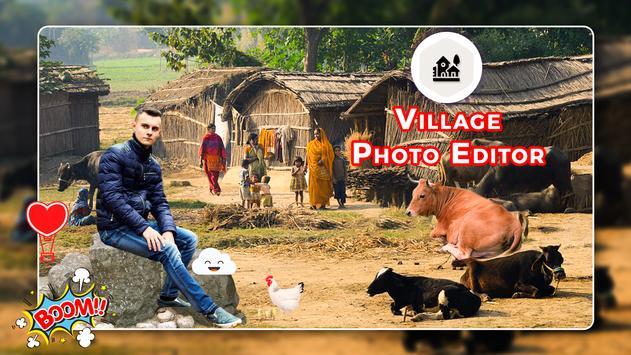 Village Photo Editor - Background Changer poster
