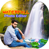 Waterfall Photo Editor - Background Changer icon