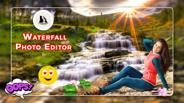 Waterfall Photo Editor - Background Changer poster