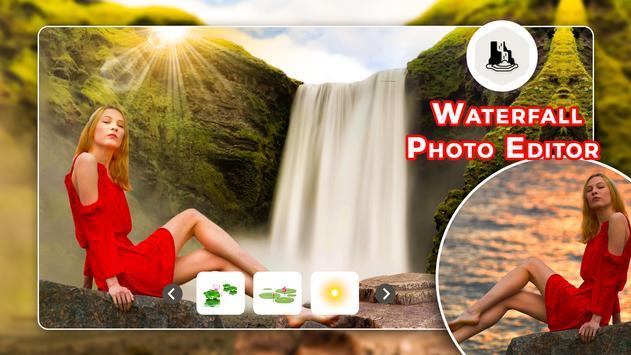 Waterfall Photo Editor - Background Changer screenshot 1