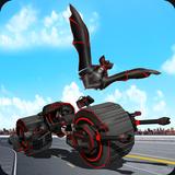 Flying Bat Transform Robot Moto Bike Robot Games
