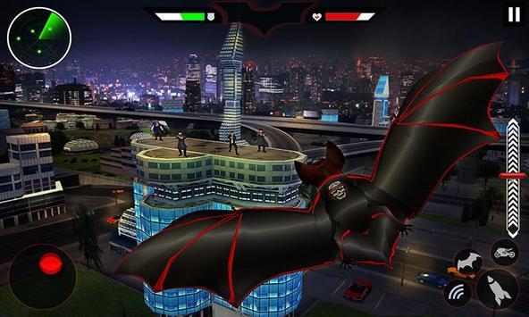 Flying Superhero Robot Transform Bike City Rescue screenshot 2