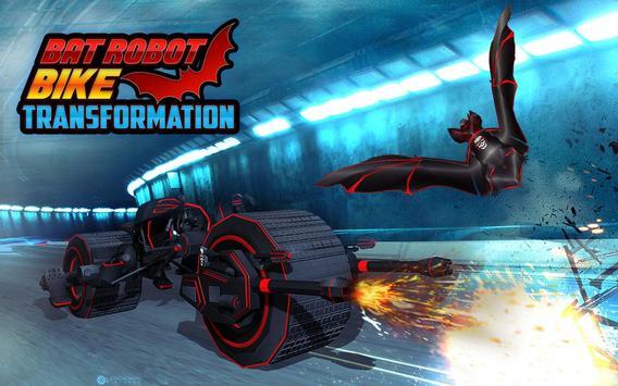 Flying Superhero Robot Transform Bike City Rescue screenshot 9