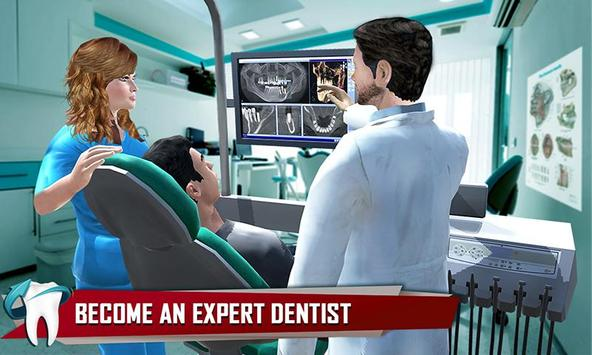 Dentist Surgery ER Emergency Doctor Hospital Games ポスター