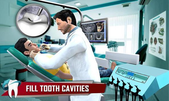 Dentist Surgery ER Emergency Doctor Hospital Games スクリーンショット 1
