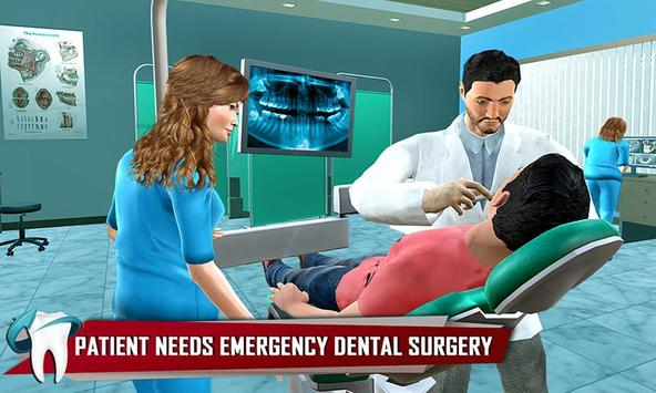 Dentist Surgery ER Emergency Doctor Hospital Games スクリーンショット 3