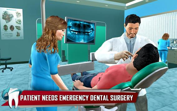 Dentist Surgery ER Emergency Doctor Hospital Games スクリーンショット 8