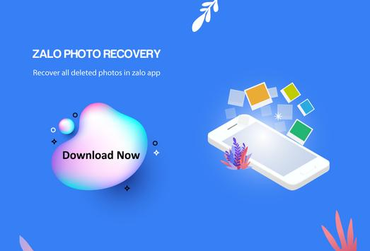 ZaloPhoto Recovery – Restore all deleted images poster