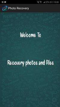 Recovery All deleted Photos Pro 2019 poster
