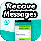Recover Messages & chatting Pro icon