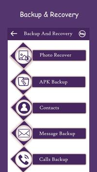Recover Deleted All Data : Files Pics Vids Contact screenshot 2