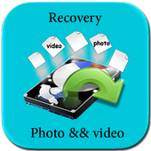 Disk Video & photo Recovery icon