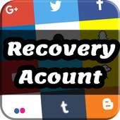 Recovery Account : Password & email icon