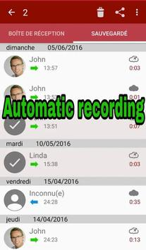 call recorder- automatic recording screenshot 1