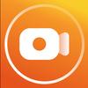 Gravador de tela com som claro, editor de vídeo ícone