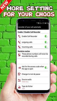 Recorder Of Your Call Automatic screenshot 3