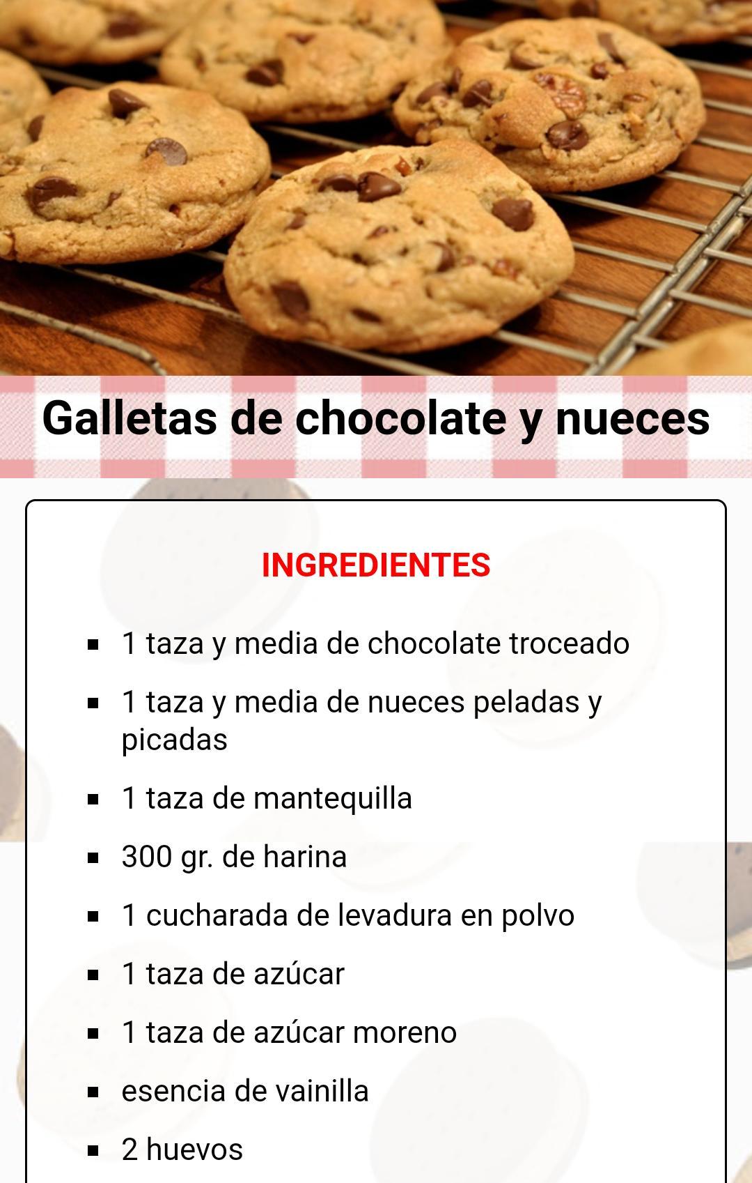 Recetas De Galletas Faciles For Android Apk Download