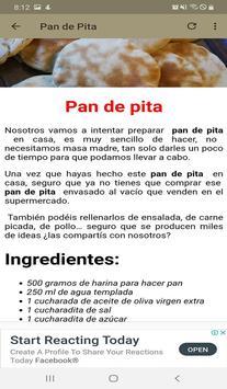 Pan Casero Recetas screenshot 4