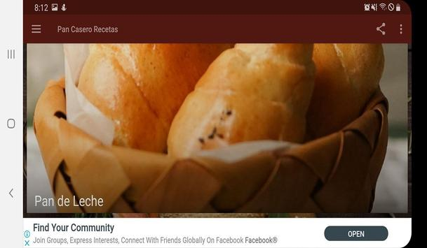 Pan Casero Recetas screenshot 6